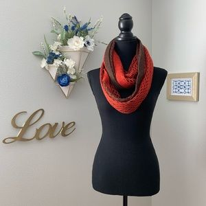 Accessories - Two tones infinity scarf. Excellent condition.